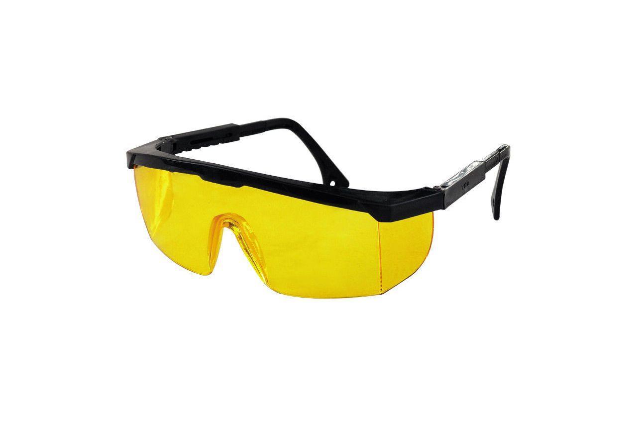 Очки защитные Mastertool - регулируемая дужка (желтые)
