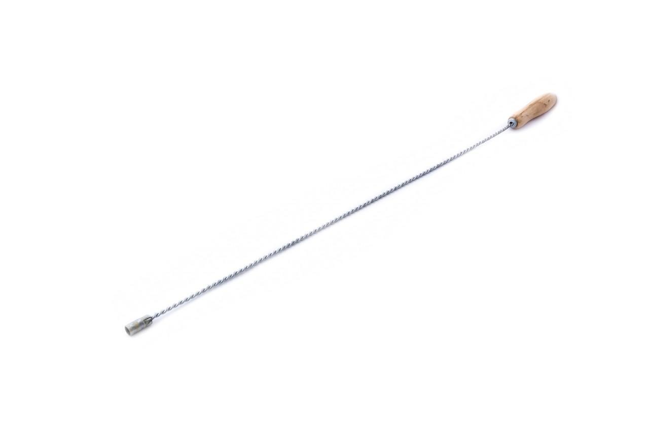 Ручка к щетке для камина DV - 0,8 м, крученая