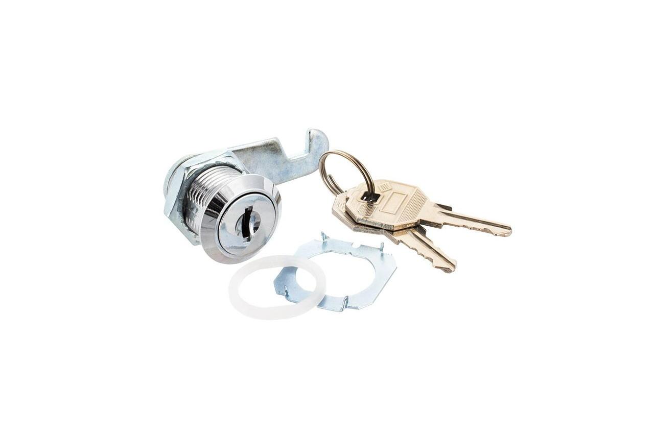 Замок почтовый FZB - металлический ключ крючок