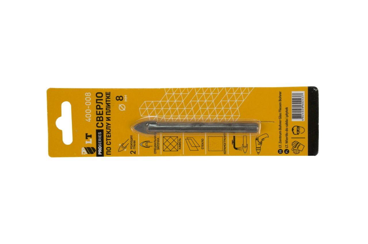 Сверло по стеклу и керамике LT - 8 мм