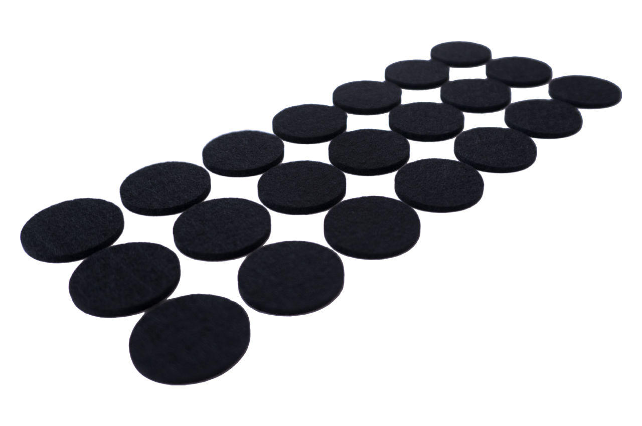 Подкладки войлочные FZB - 28 мм круглые (24 шт.)