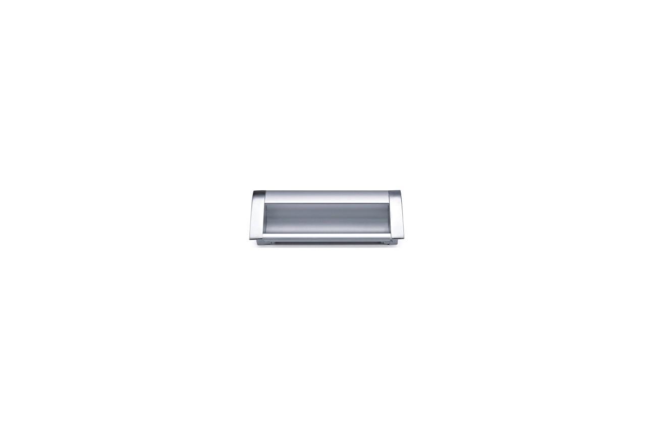 Ручка мебельная FZB - 160 мм 906 AL/CP, 1-115-003