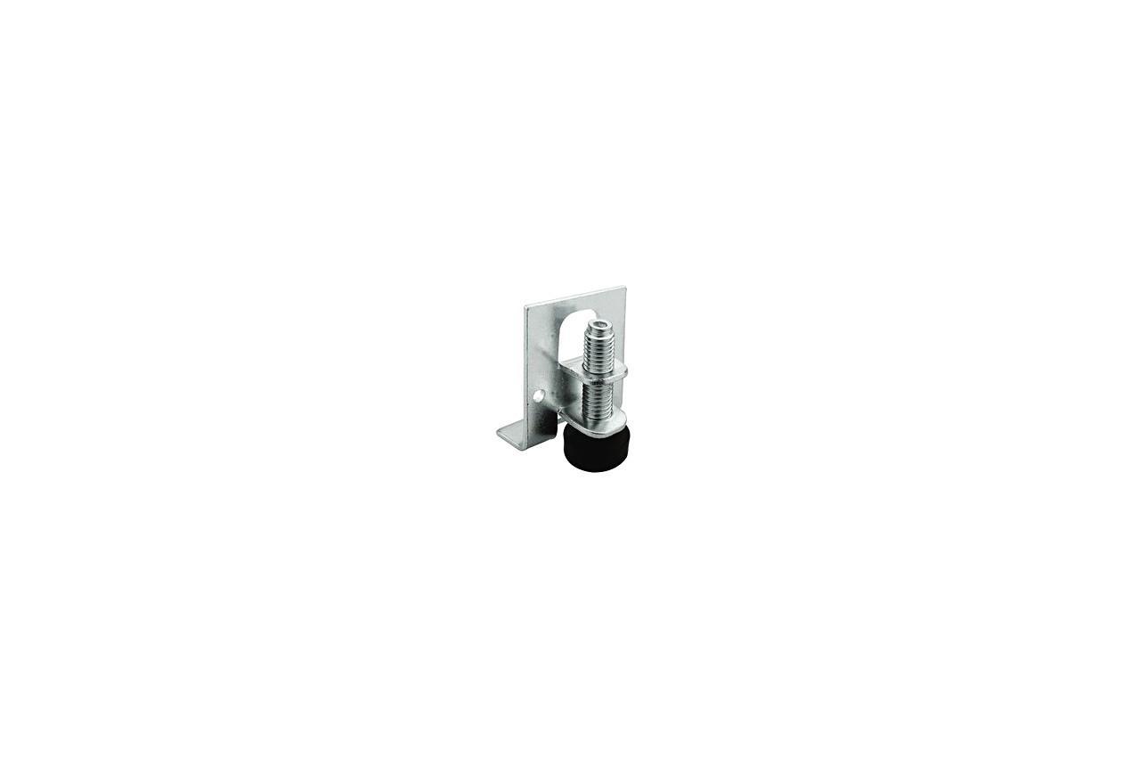 Ножка мебельная FZB - М6 для раздвижных систем черная