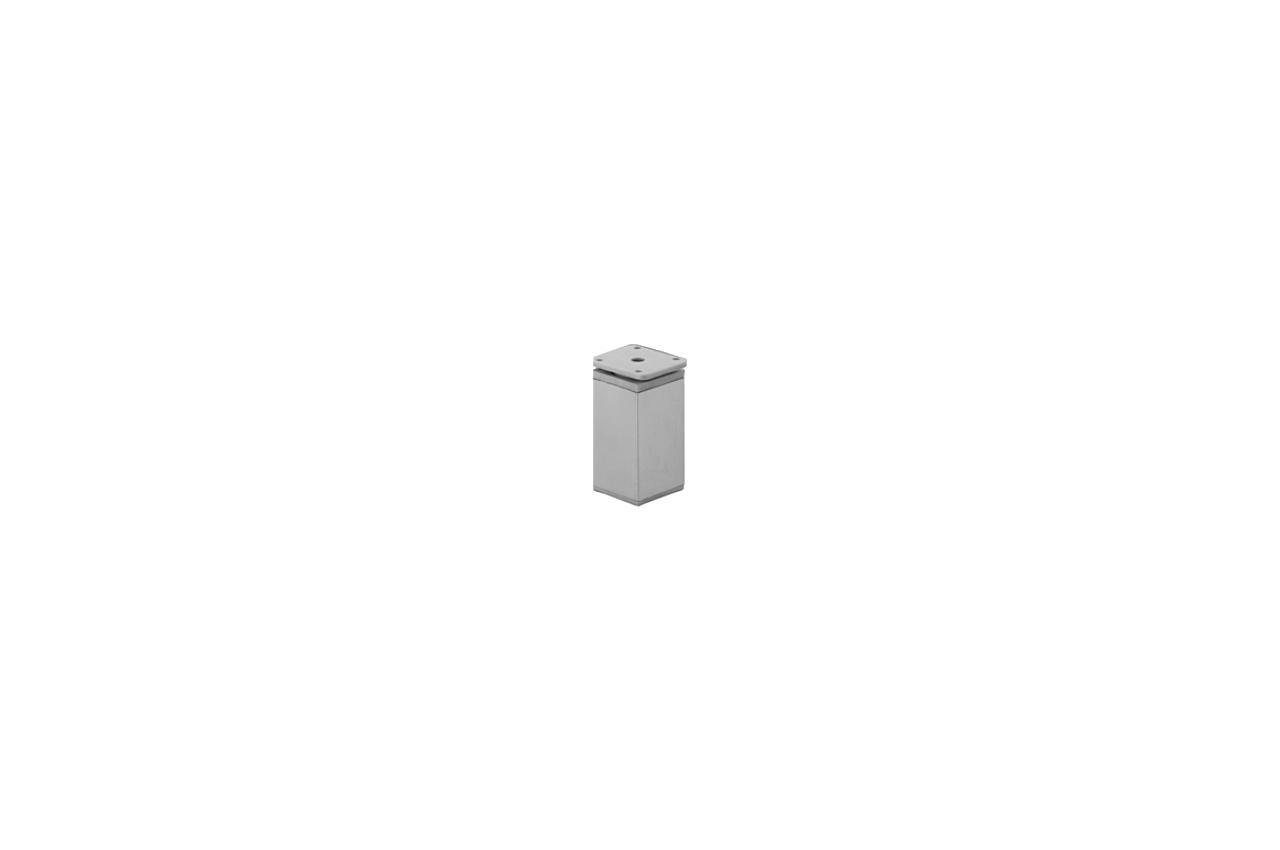 Ножка мебельная FZB - 80 мм 04C AL