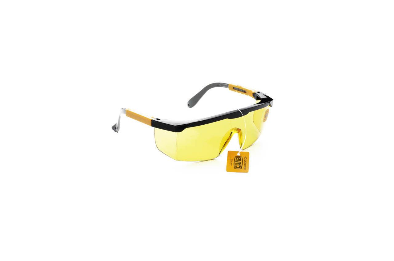 Очки защитные Сила - протектор желтые