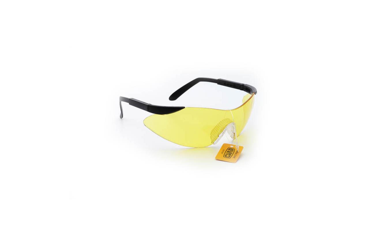 Очки защитные Сила - экстрим желтые