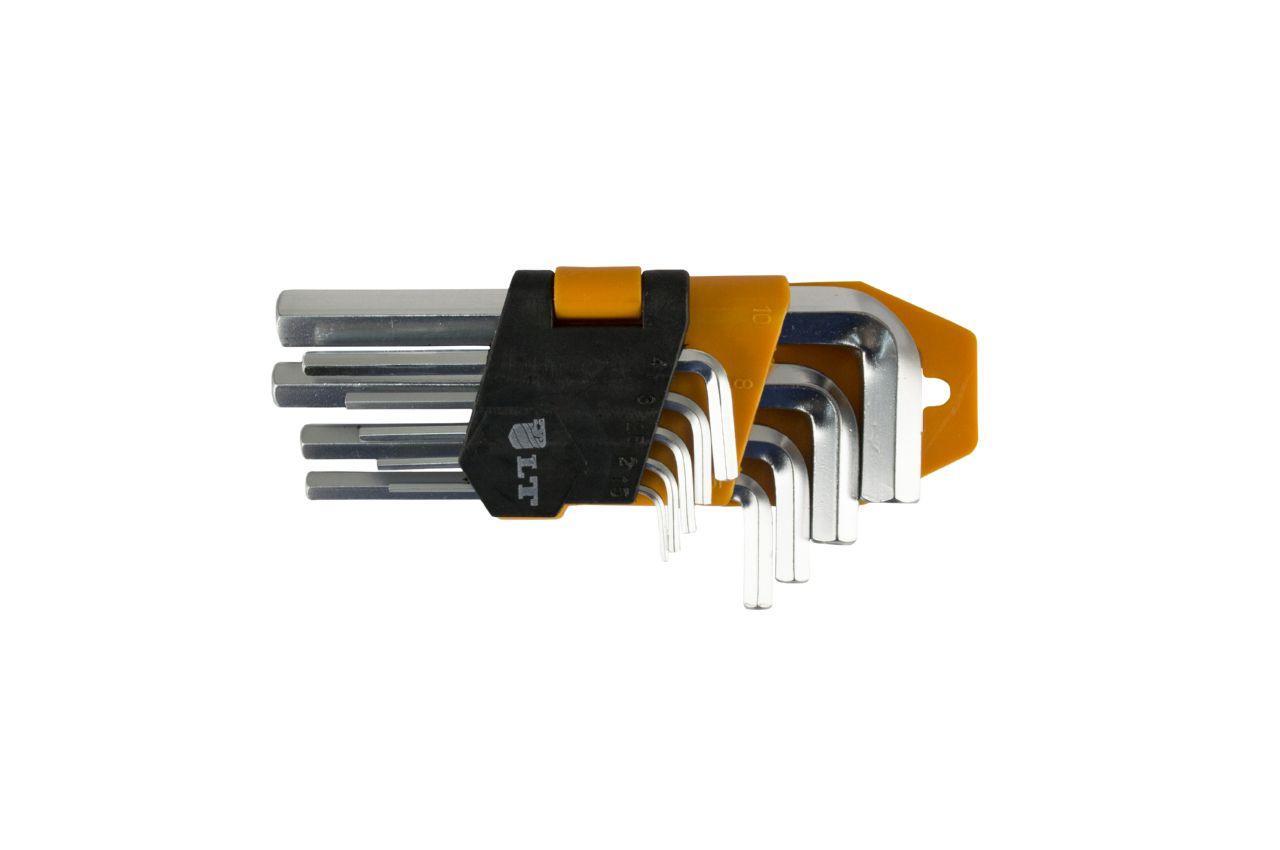 Набор шестигранных ключей LT - 9 шт. (1,5-10 мм)