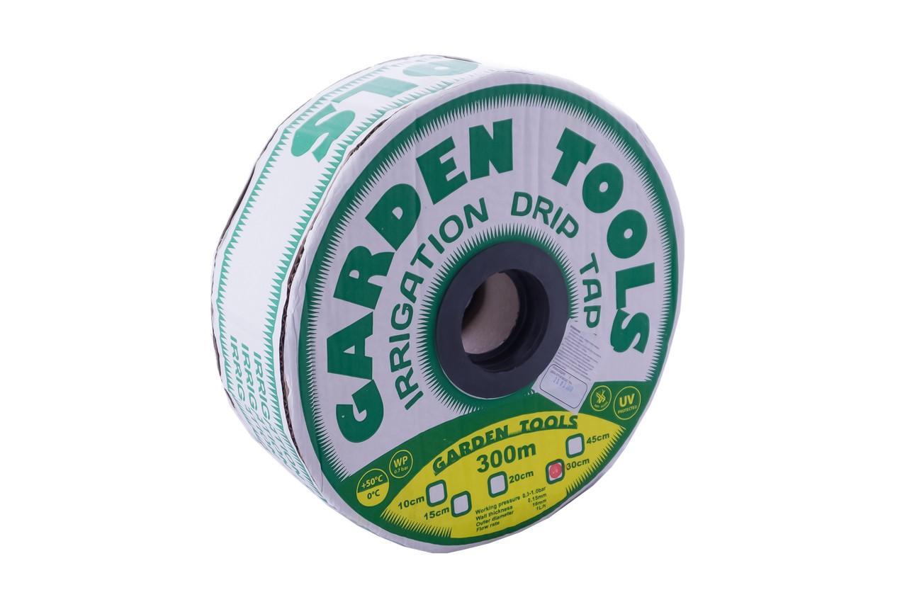 Лента капельного полива Garden Tools - 0,15 x 150 мм x 300 м