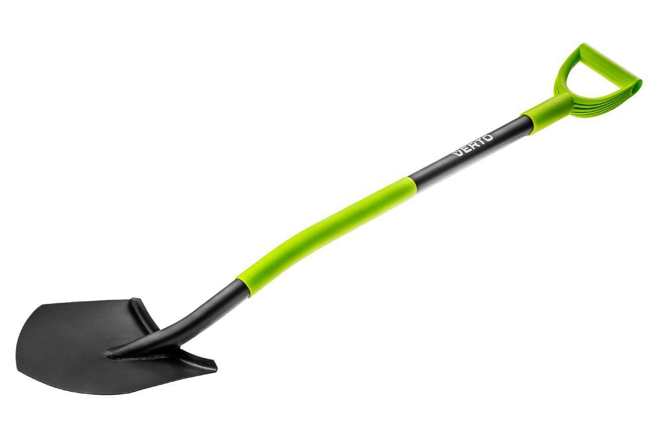 Лопата штыковая Verto - ручка металл