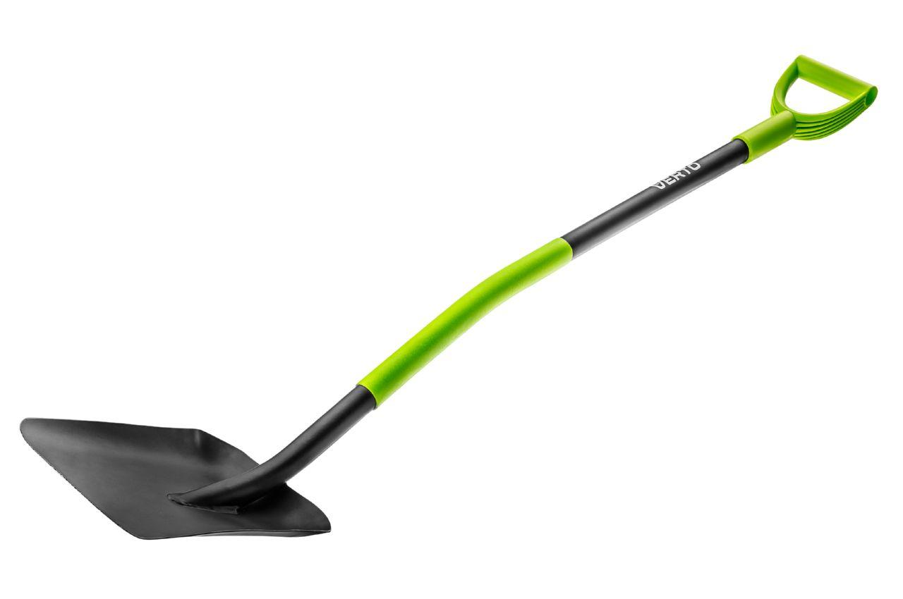Лопата совковая Verto - ручка металл