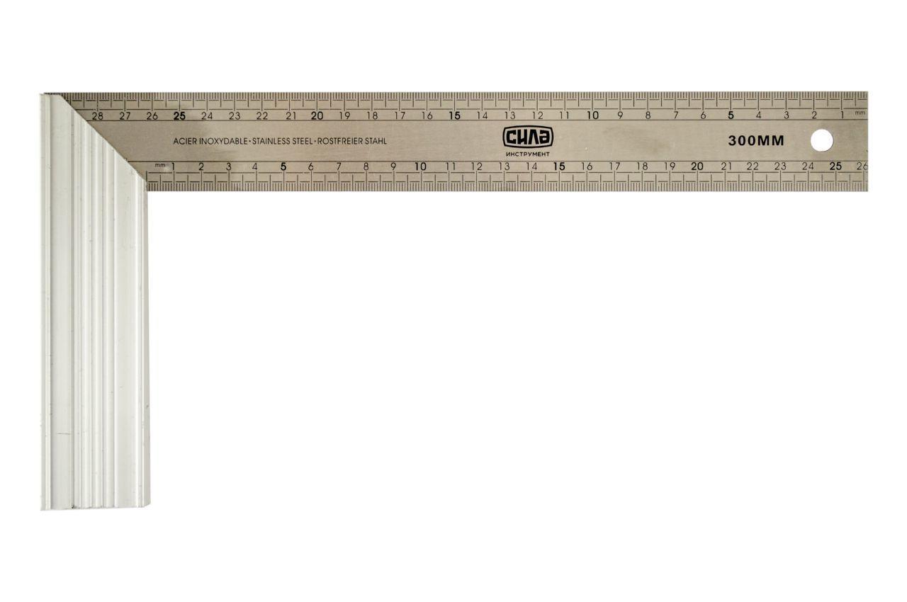 Угольник Сила - 400 мм нержавейка