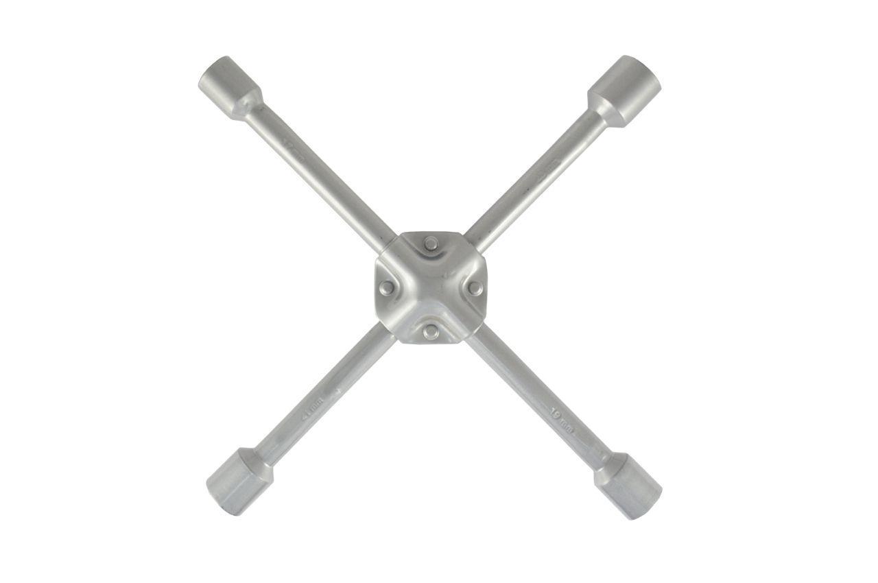 Ключ баллонный крестообразный Сила - 17 x 19 x 21 x 23