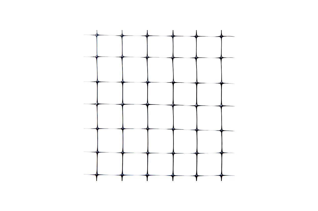 Сетка птичка Клевер - 2,0 x 100 м (12 x 14 мм) черная, У-12/2,0/100ч