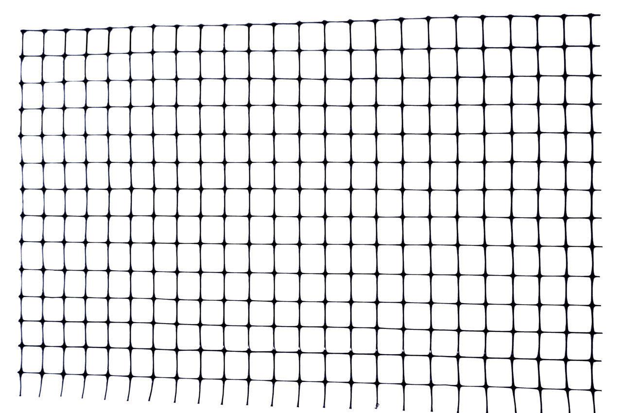 Сетка птичка Клевер - 0,5 x 100 м (12 x 14 мм) черная, У-12/0,5/100ч