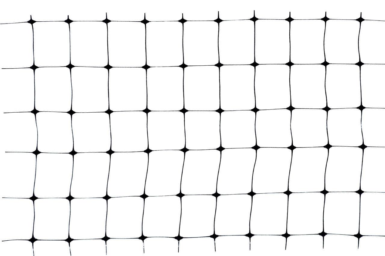 Сетка птичка Клевер - 0,5 x 100 м (30 x 35 мм) черная, У-30/0,5/100ч