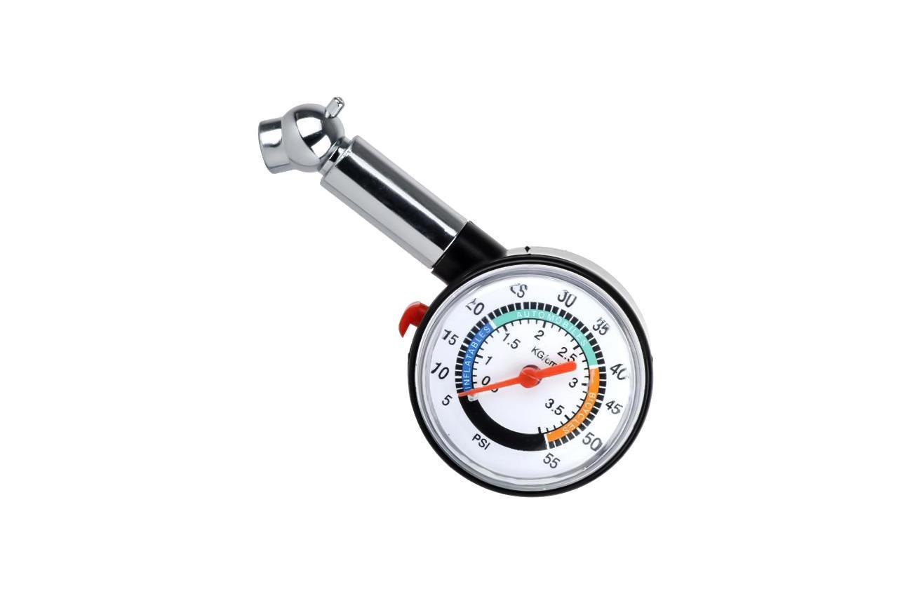 Измеритель давления в шинах Intertool - пластиковый, AT-1003
