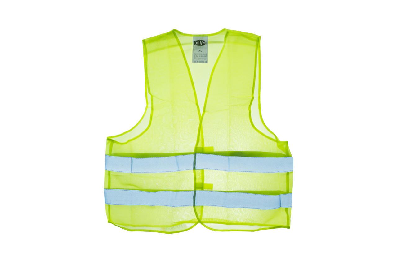 Жилет светоотражающий Сила - желтый XL
