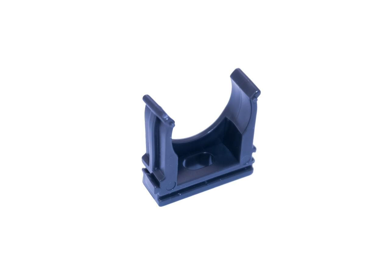 Клипса для гофры Apro - 25 мм черная (50 шт.)
