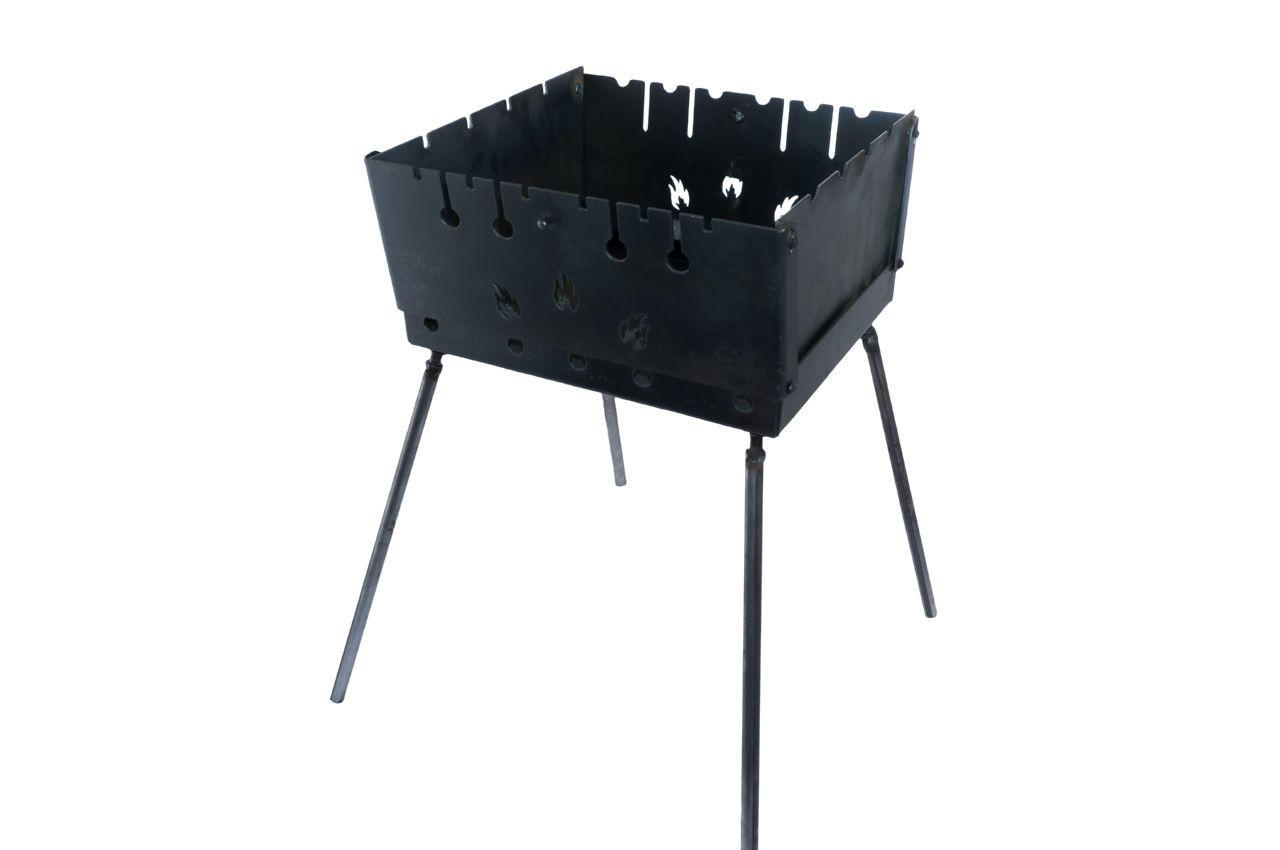 Мангал-чемодан DV - 6 шп. x 3 мм (горячекатаный)