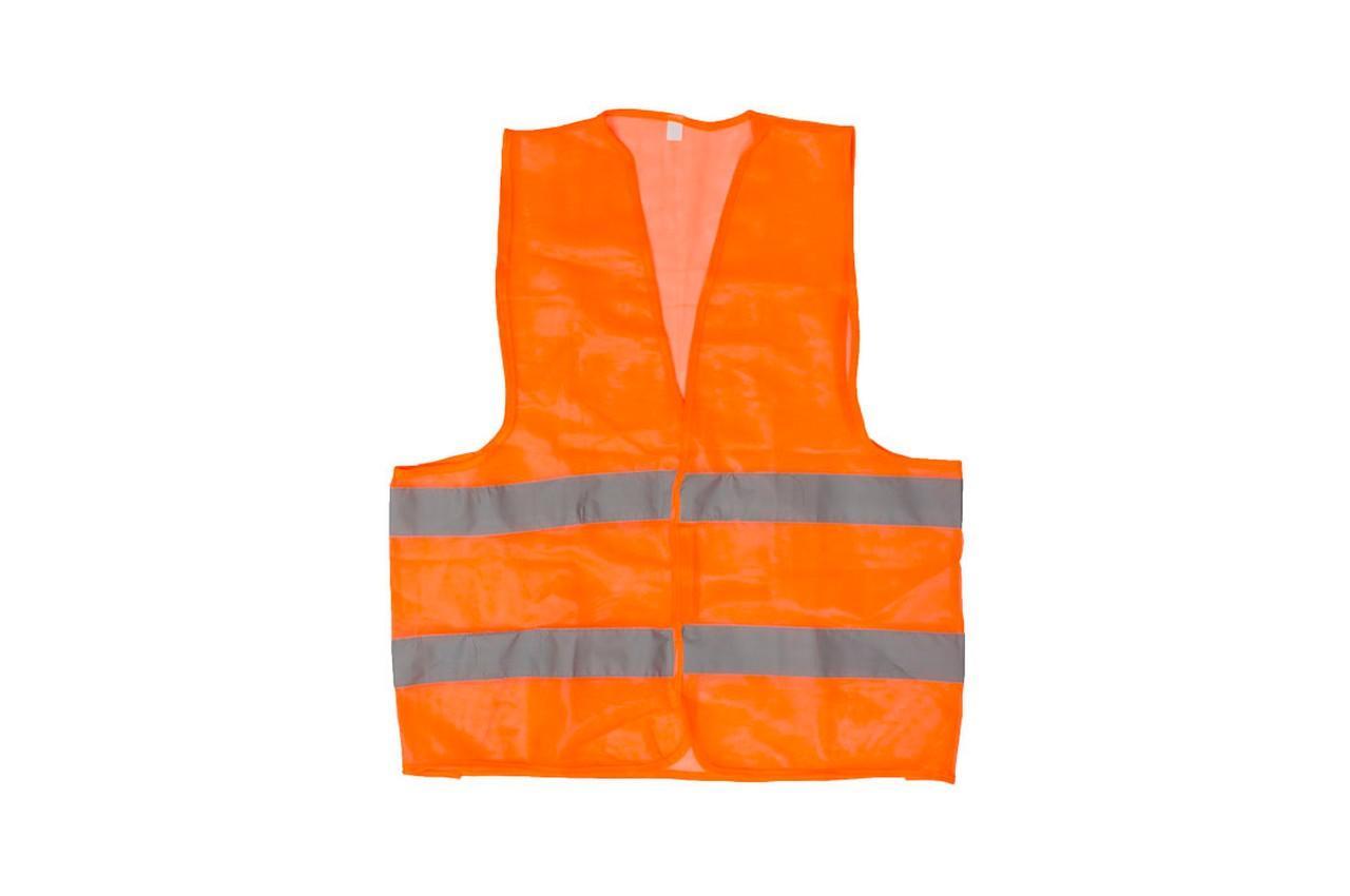 Жилет светоотражающий Intertool - XL оранжевый