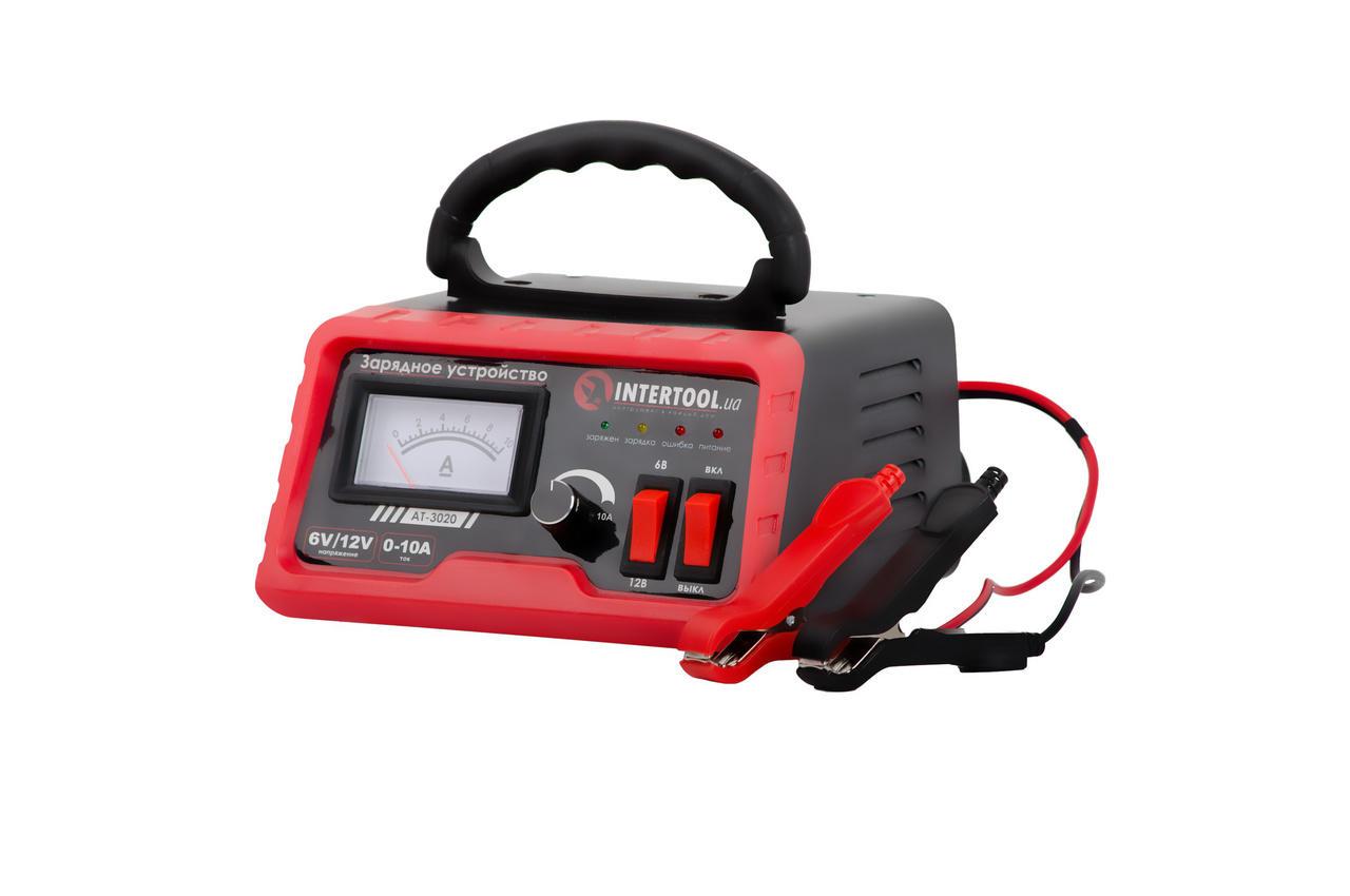 Зарядное устройство Intertool - 6В-12В x 0-10А