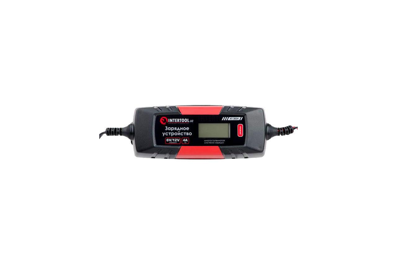 Зарядное устройство Intertool - 6В-12В x 1-2-3-4А