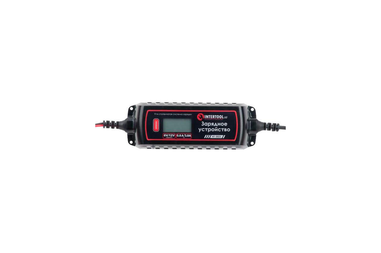 Зарядное устройство Intertool - 6В-12В x 0,8-3,8А