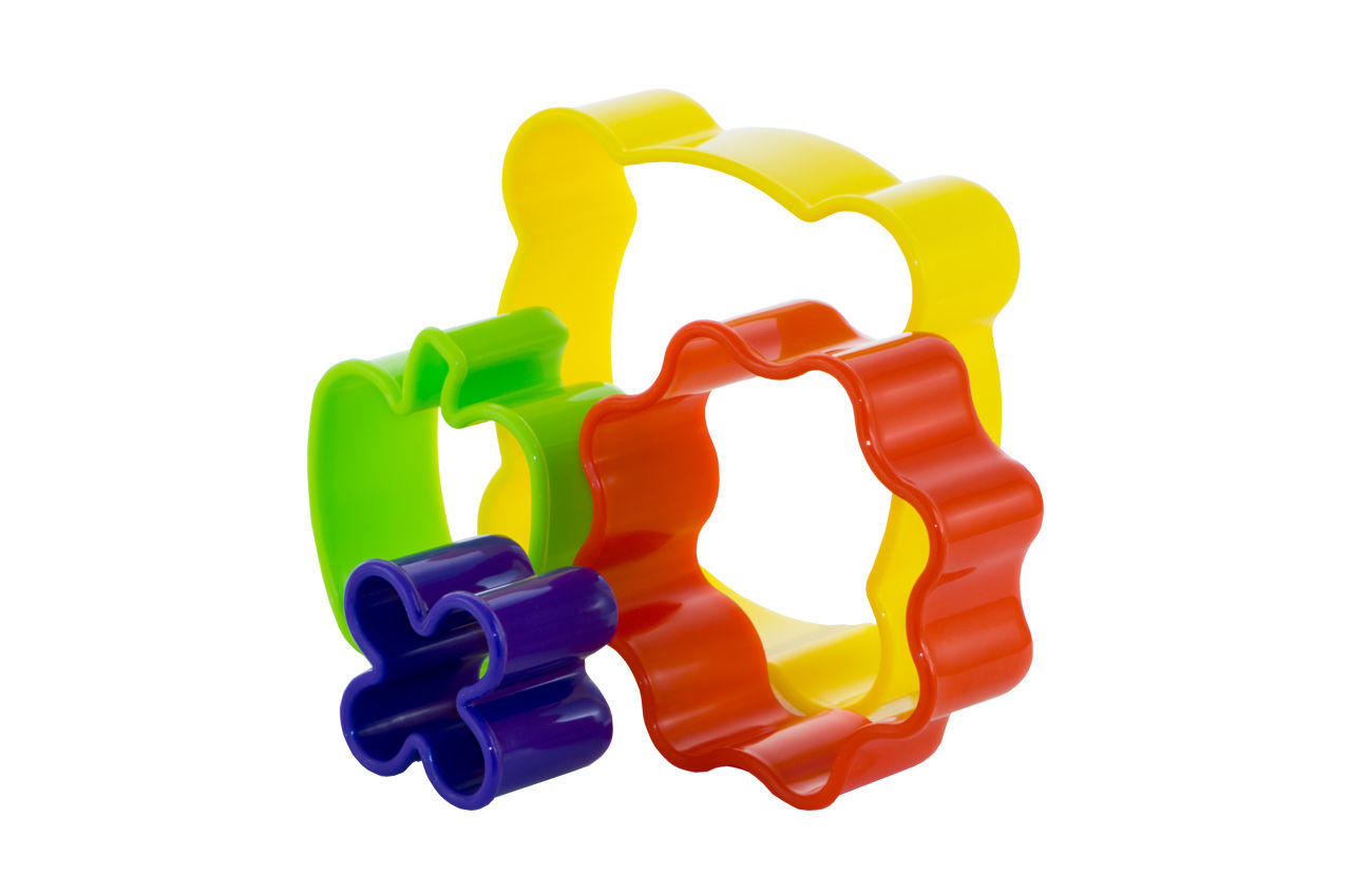 Набор форм для выпечки HozPlast - пластик (3 шт.)
