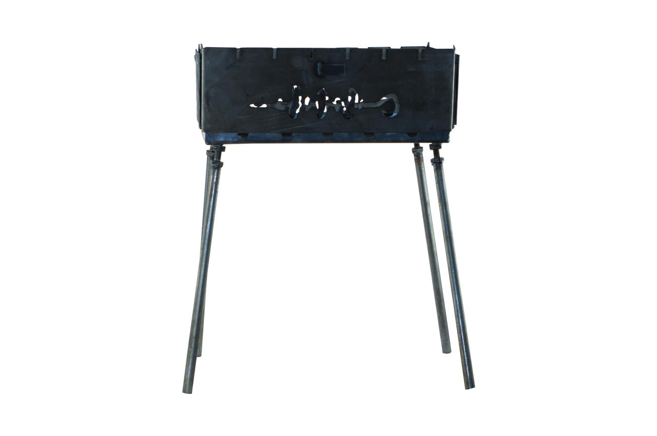 Мангал-чемодан DV - 12 шп. x 1,5 мм (холоднокатанный)