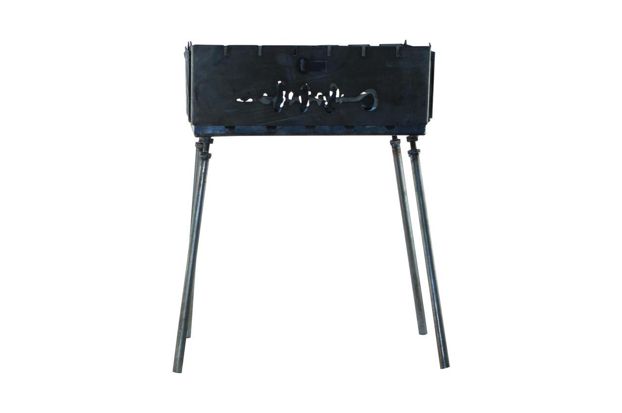 Мангал-чемодан DV - 6 шп. x 1,5 мм (холоднокатанный)