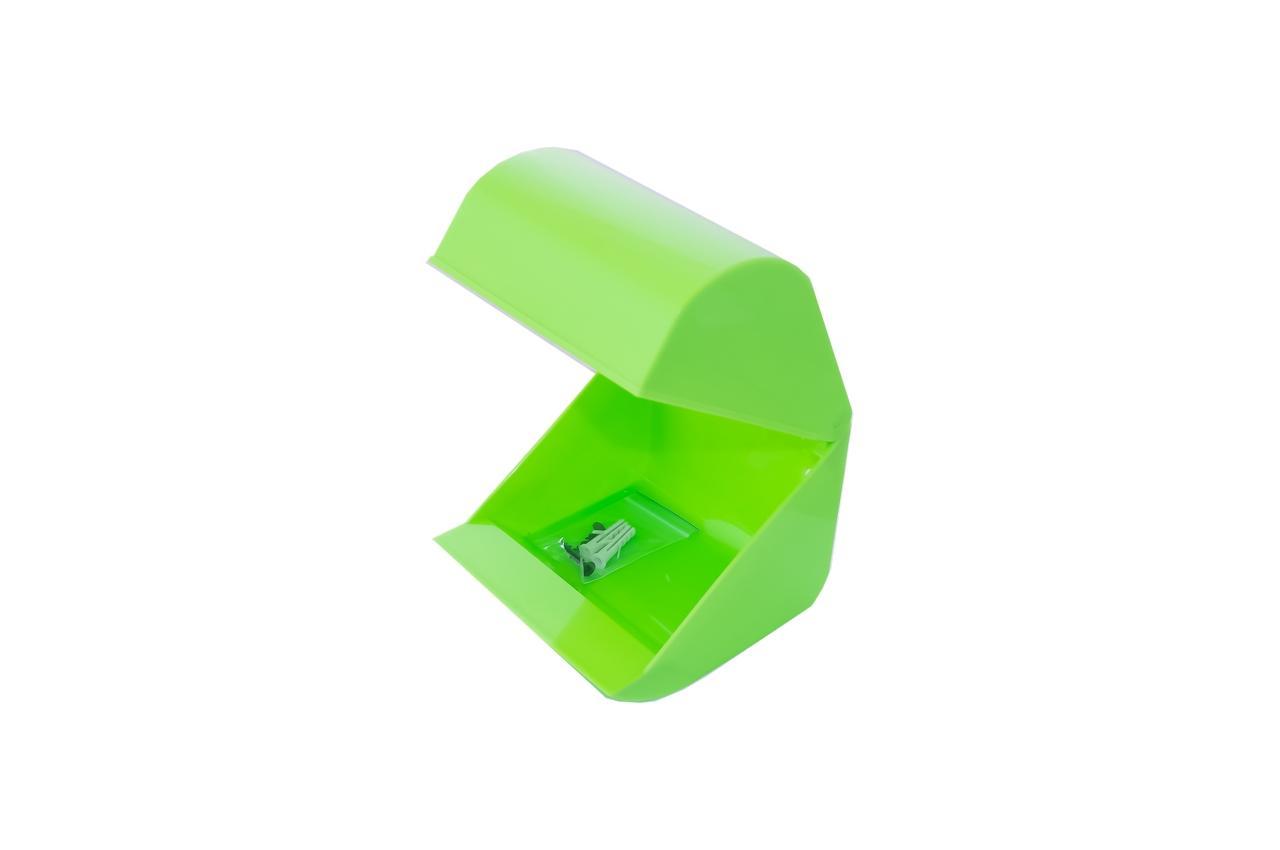 Держатель для туалетной бумаги HozPlast - 125 х 115 мм пластик