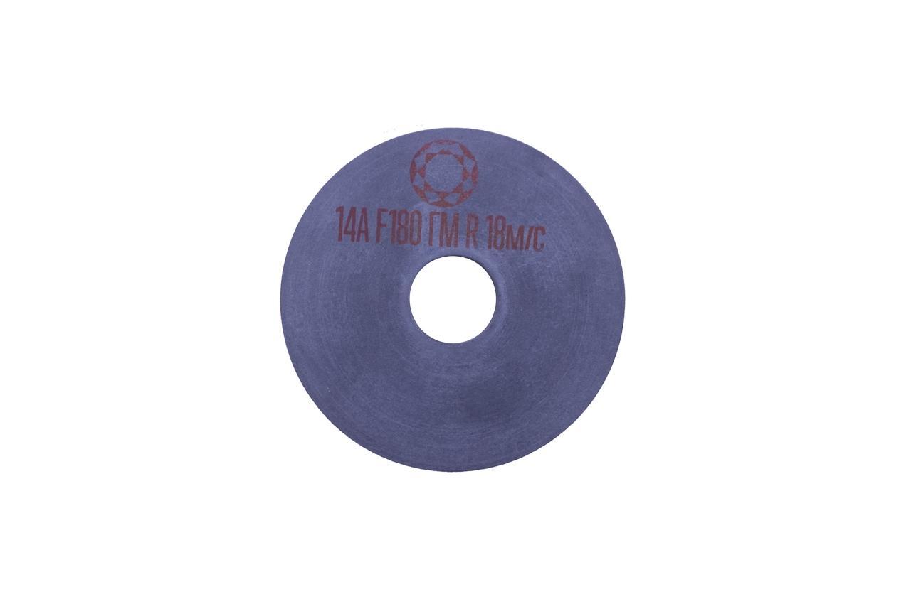 Круг вулканитовый Pilim - 125 x 10 x 32 мм x P180