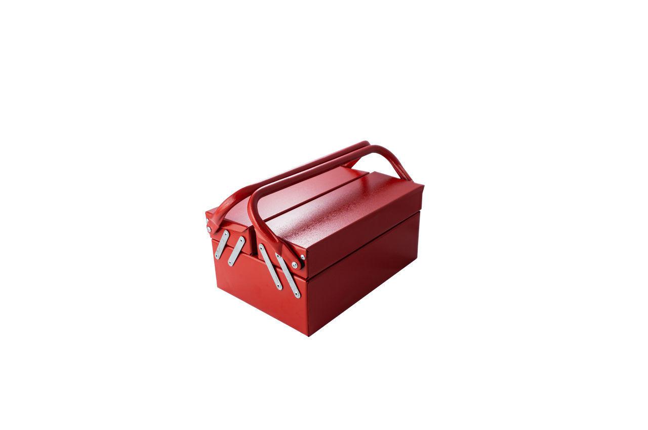 Ящик для инструмента Гранит - 330 мм x 3 секции, металлический