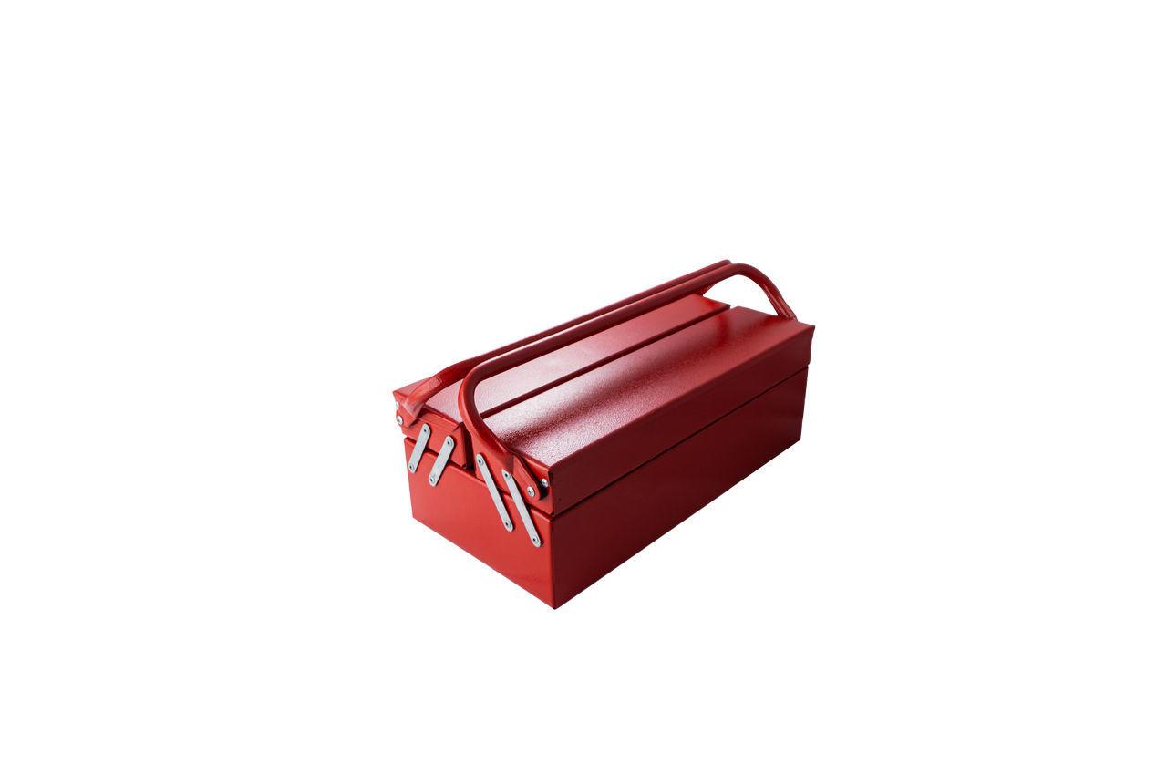 Ящик для инструмента Гранит - 430 мм x 3 секции, металлический
