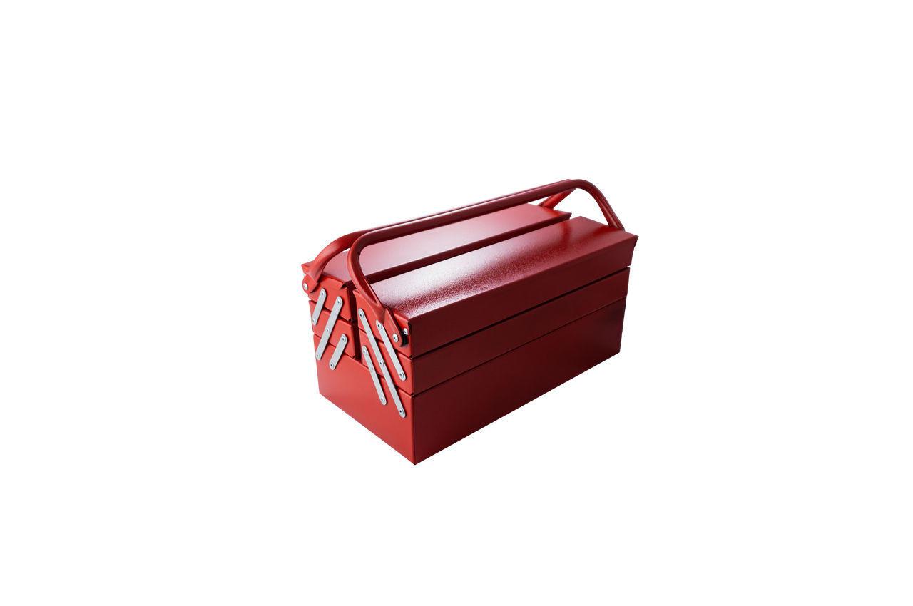 Ящик для инструмента Гранит - 430 мм x 5 секций, металлический