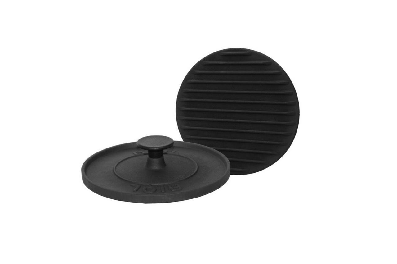 Крышка-пресс чугунная Биол - 215 мм