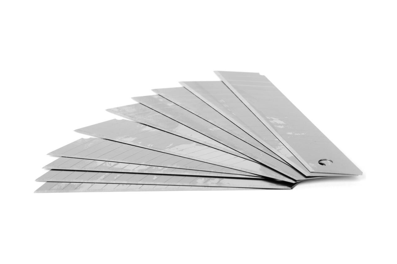 Лезвие сегментное Intertool - 18 мм x 14 сегментов (10 шт.)