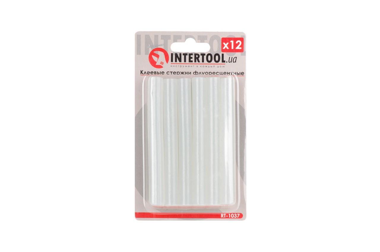 Клеевые стержни Intertool - 11,2 x 100 мм флуоресцентные (12 шт.)