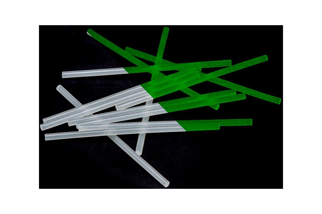 Клеевые стержни Intertool - 7,4 x 200 мм флуоресцентные (12 шт.)