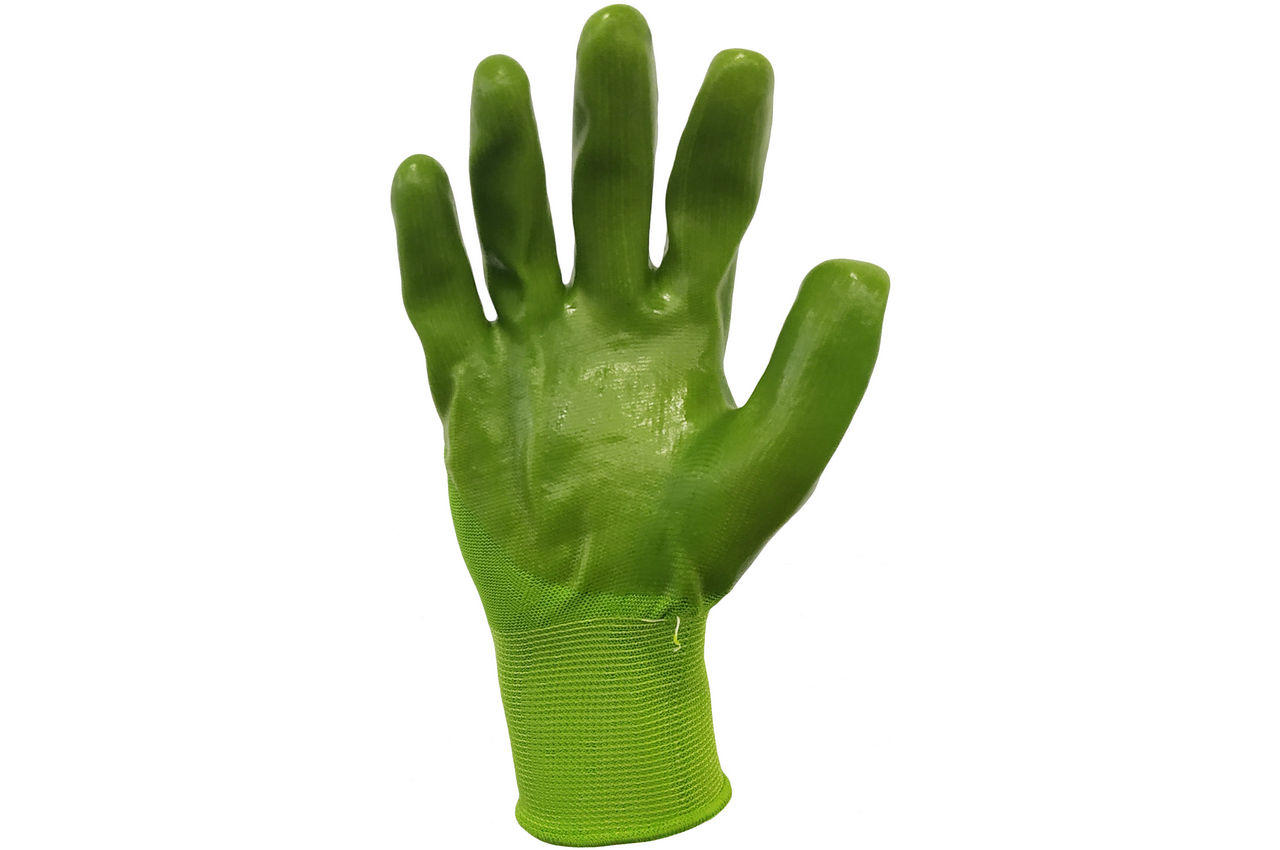 """Перчатки PRC - 10"""" силиконовые зеленые 80 г, x"""