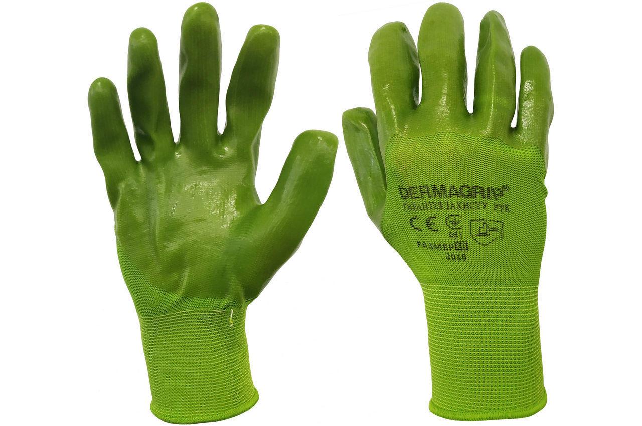 """Перчатки PRC - 10"""" силиконовые зеленые 80 г 6 шт."""