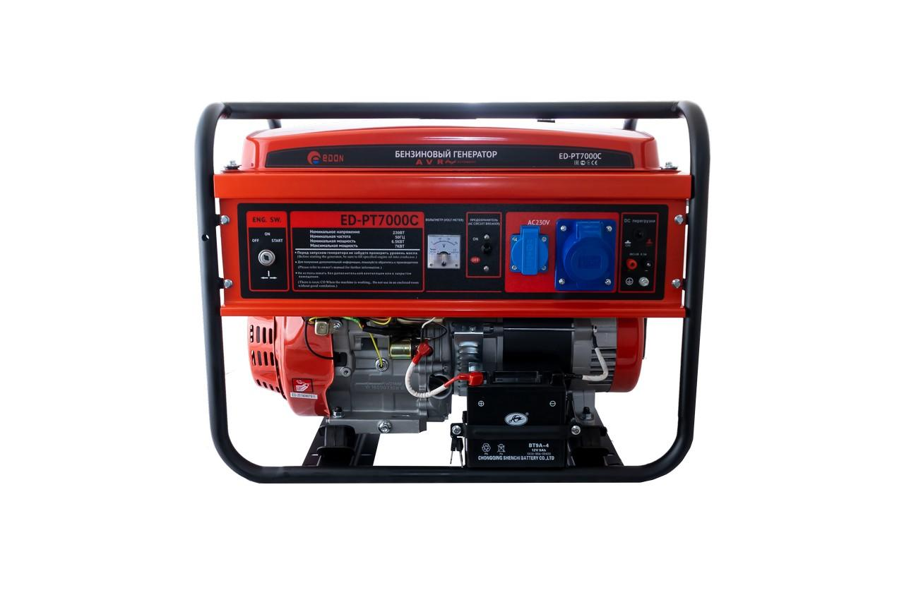 Генератор бензиновый Edon - ED-PT7000C, PT-7000С
