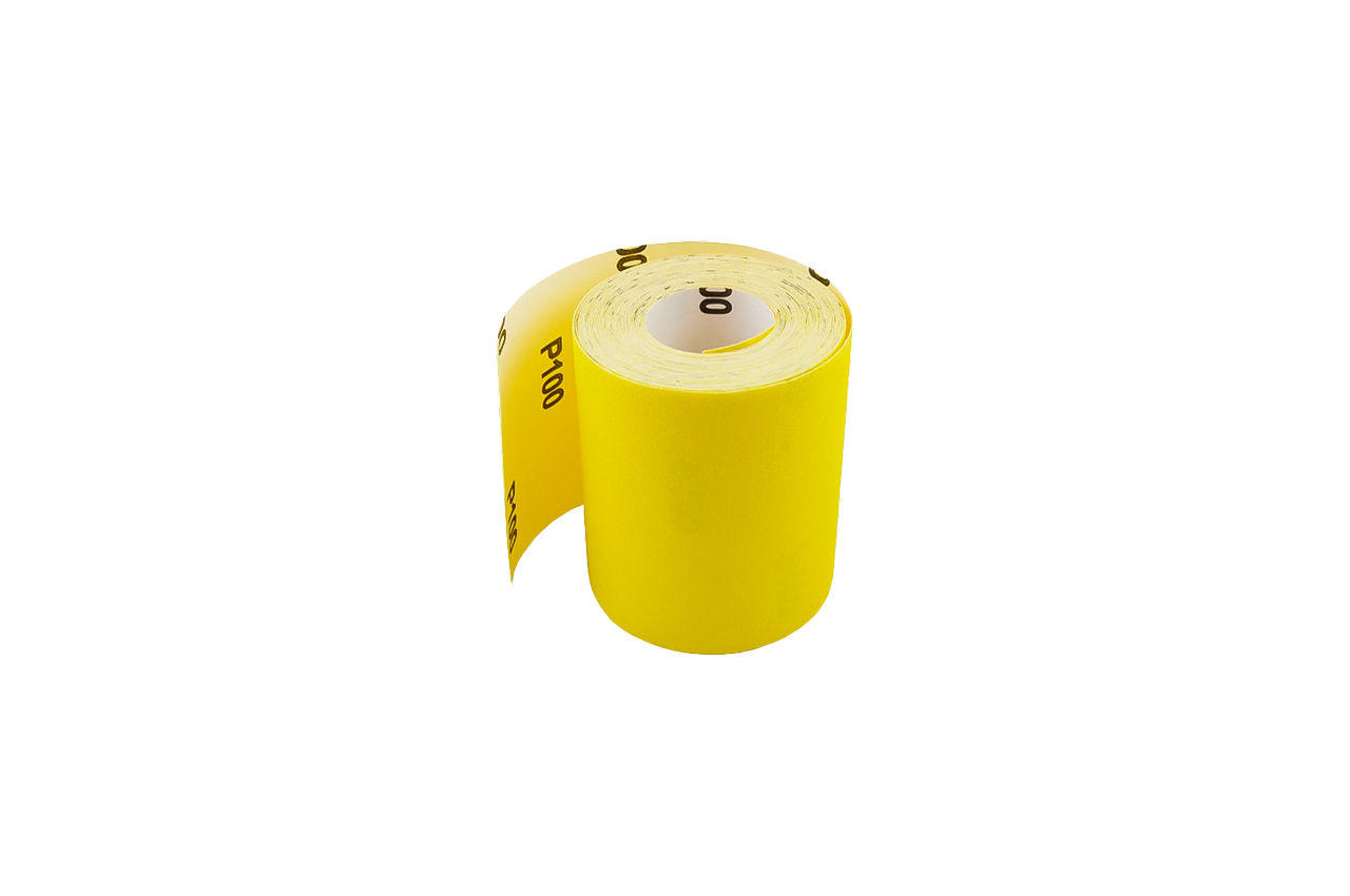Шлифовальная шкурка Mastertool - 115 мм, x 10 м x P80, бумага