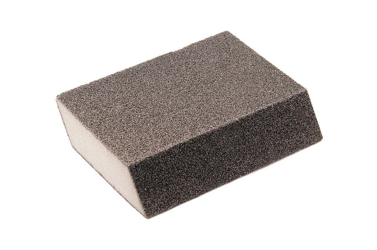 Губка шлифовальная Mastertool - 110 x 75 x 25 мм, x P180 ромб