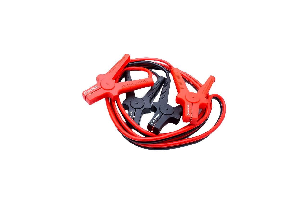 Пусковой провод Intertool - 200A x 2,5 м