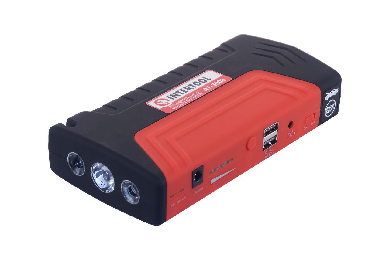Пускозарядное устройство Intertool - 10000mAh