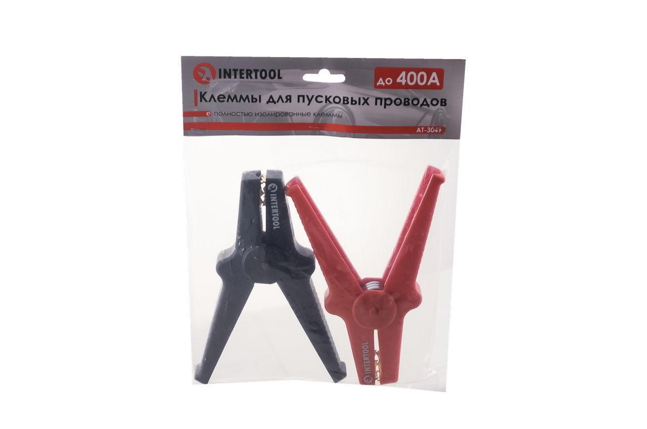 Клеммы для пусковых проводов Intertool - 600A