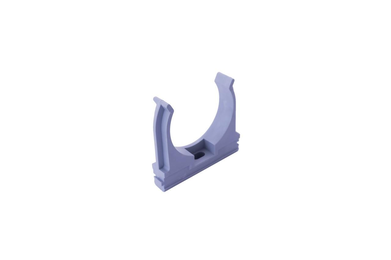 Клипса для гофры Apro - 50 мм серая (25 шт.)