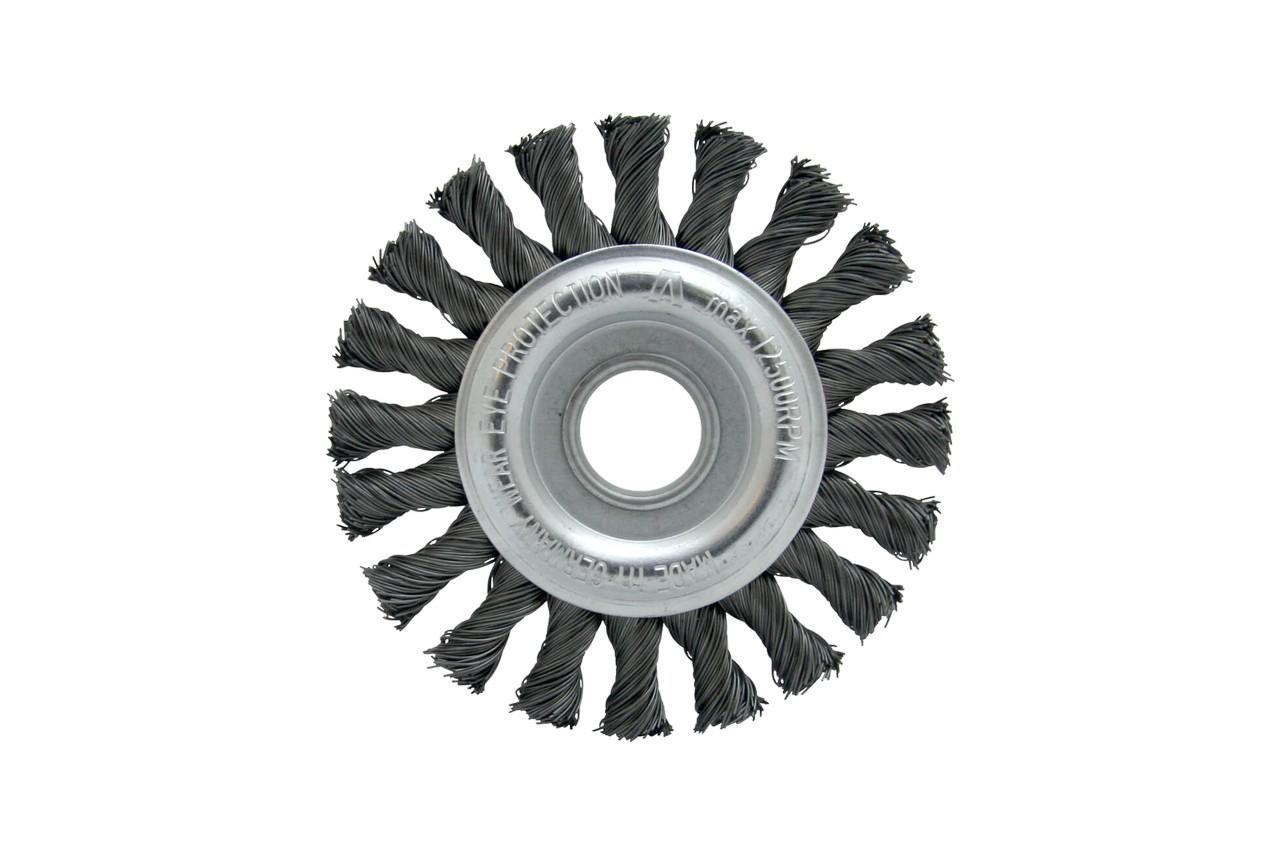Щетка дисковая на дрель Housetools - 75 мм, плетеная