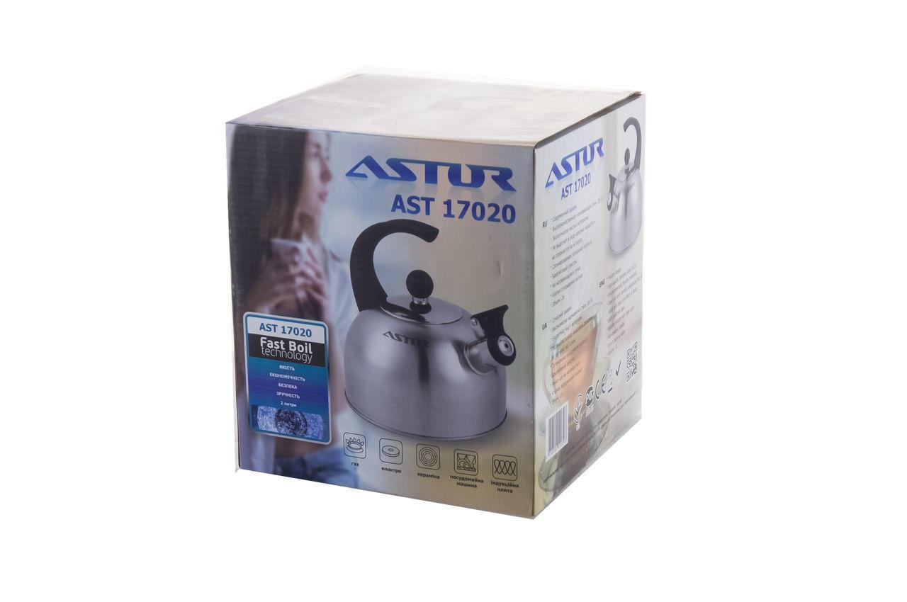 Чайник нержавеющий Astor - 2 л